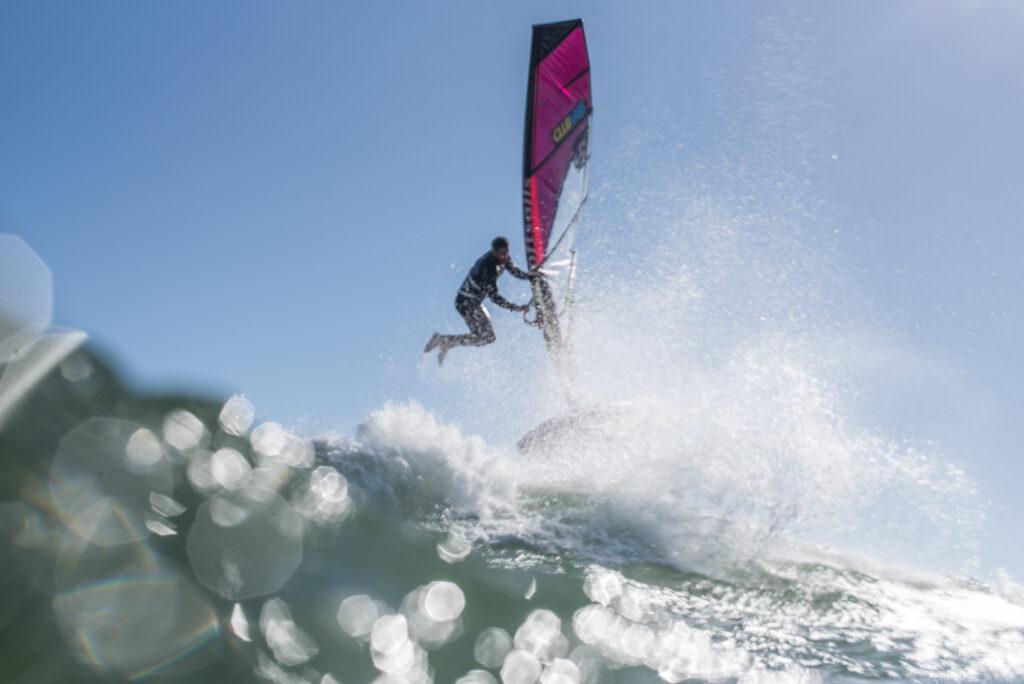 Windsurfer George Grisley